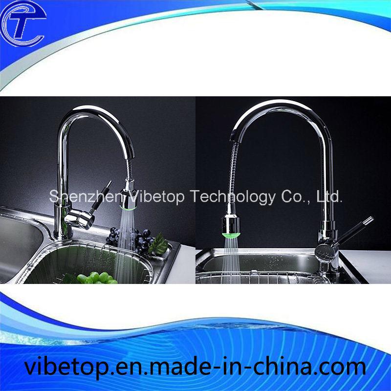 Singel Handle Stainless Steel Kitchen Sink Faucet Pipe