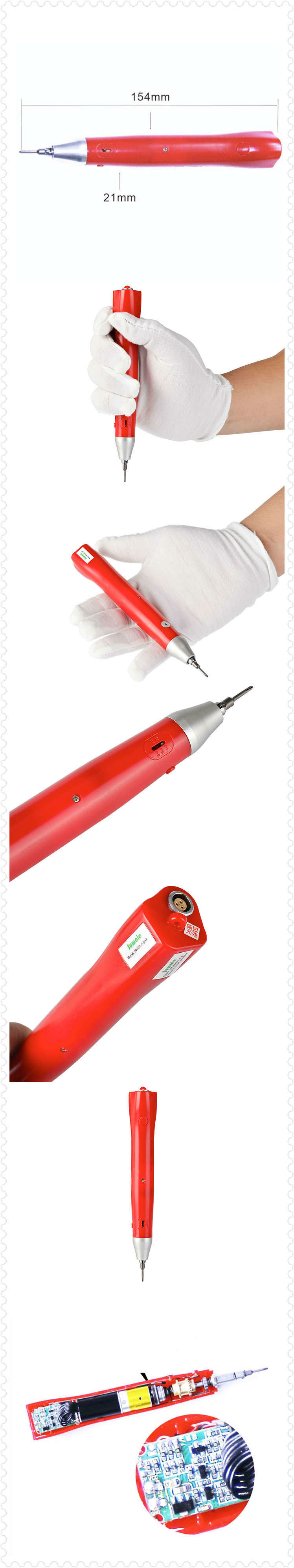Automatic Power Screwdriver 100-250V Assembly Tools Electric Brushless Screwdriver