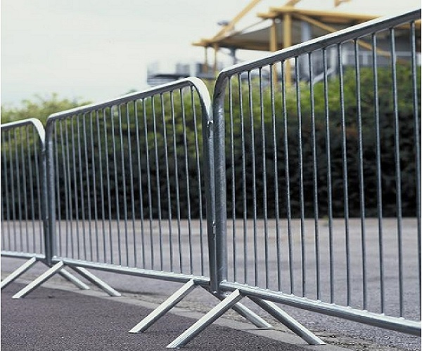 Exported Hot Dipped Galvanized Metal Steel Crowd Control Barrier