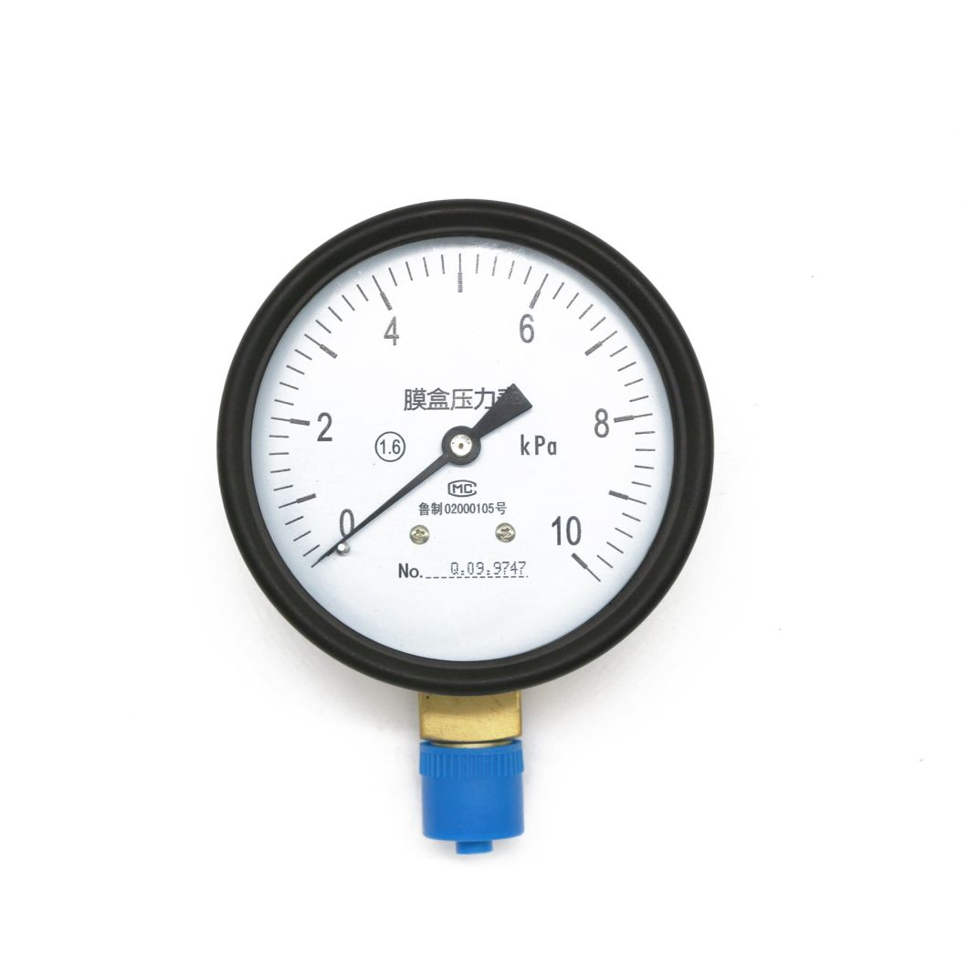 60mm Capsule Pressure Gauge with High Quality Made in China