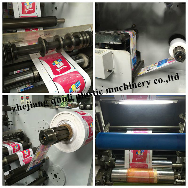 Flexo Printing Machine Sticker label Printing Machine