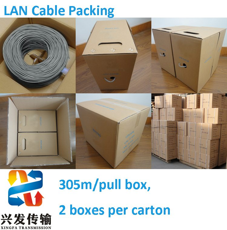 Crimp UTP Cable Factory Cat5e Network Cable with ETL/RoHS