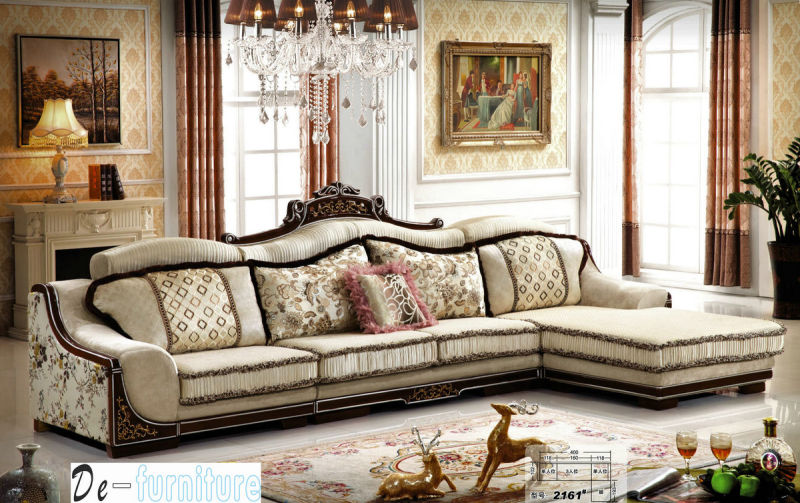 New Classic High Quality Sofa for Living Room Furniture (2161)