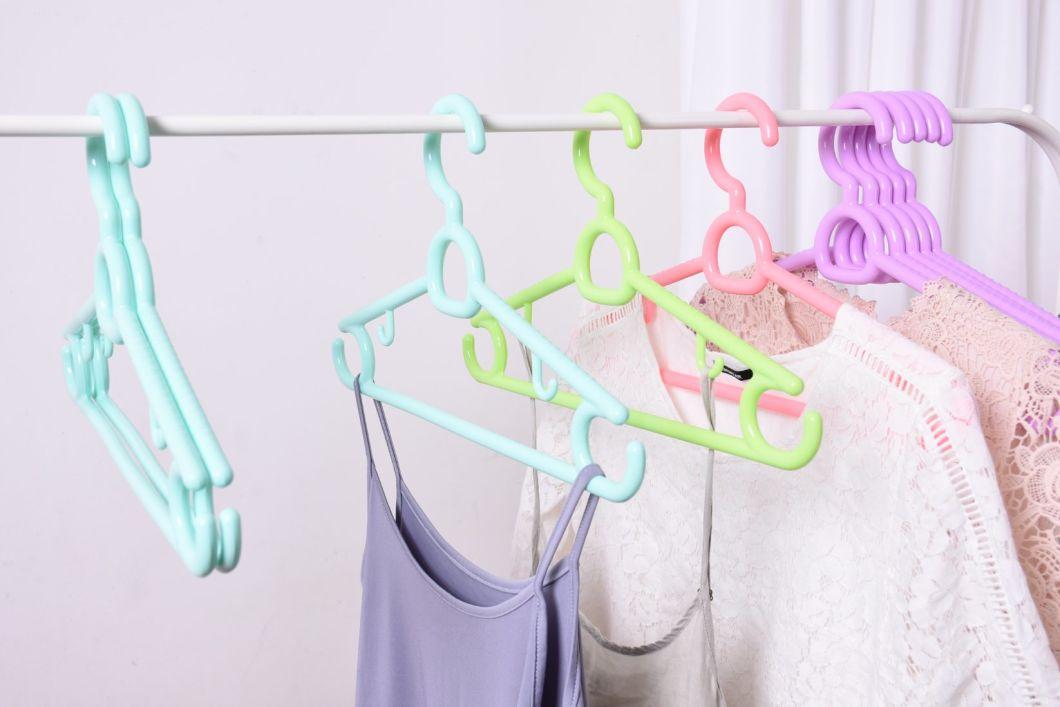 Non Slip Hangers Skirt Blet Plastic Hangers