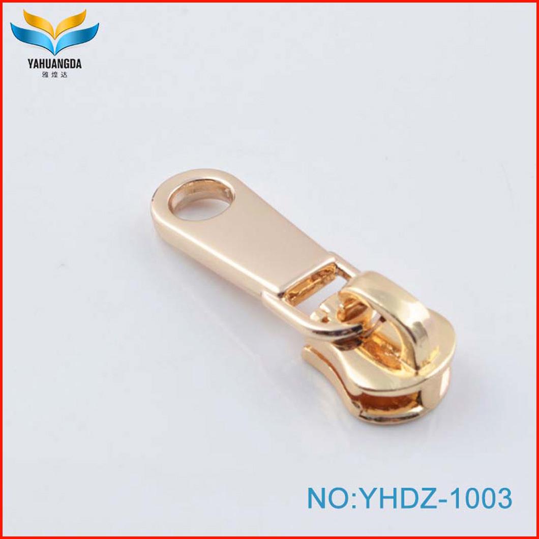 High End Custom Logo Design Zipper Puller Metal Zipper Pulls