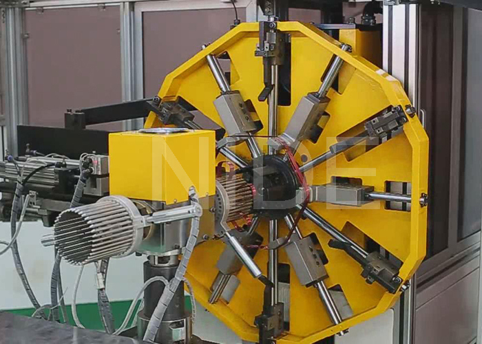 Alternator Automatic Stator Coil Wave Winding Machine