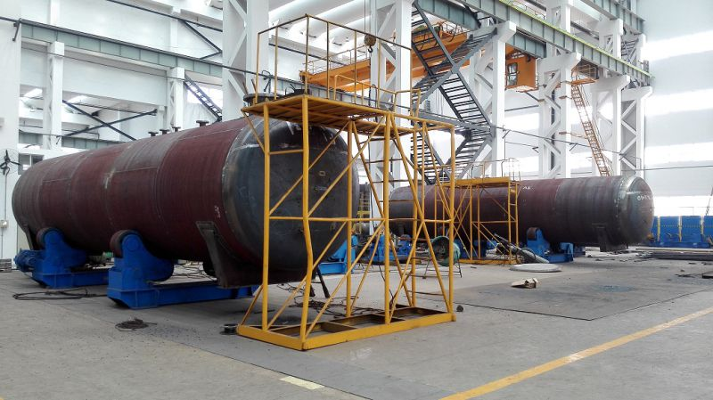 50, 000L Carbon Steel Middle Pressure 18bar Chemical Storage Tank for Ammonia, Chlorine, Refrigerant Gas