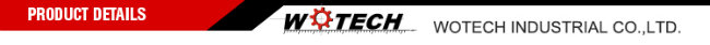 Wotech Zinc Casting Parts with Ts16949 Certificate