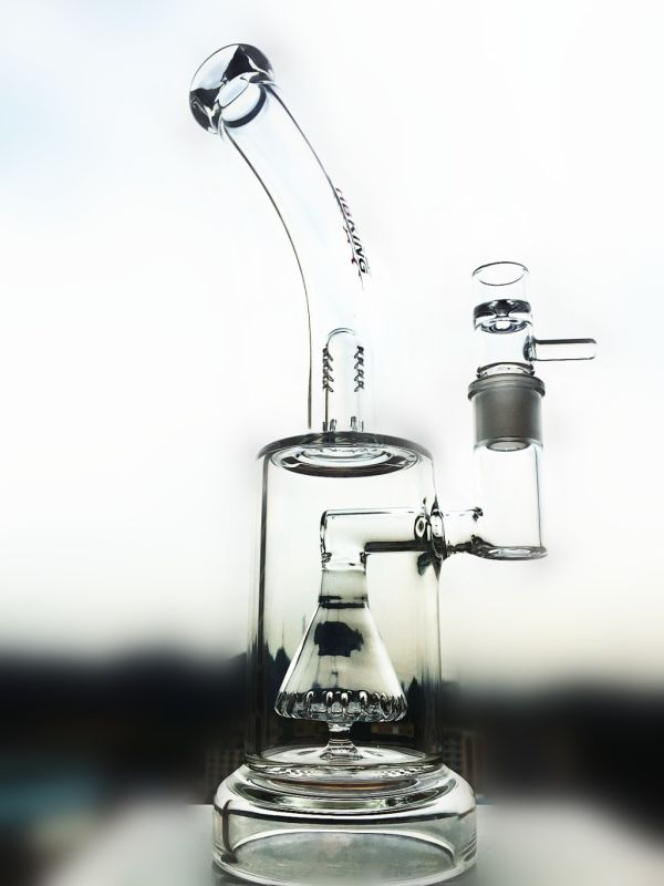 Wholesale New Design Showerhead Egg Perc Recycler Glass Smoking Pipe