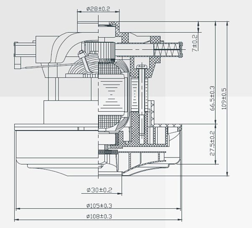 Handheld Driect Current Motor