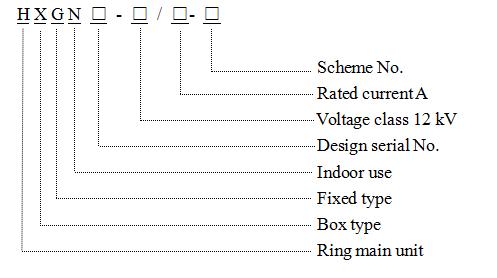 Hxgn-12 Box-Type Fixed Looped-Network Switchgear