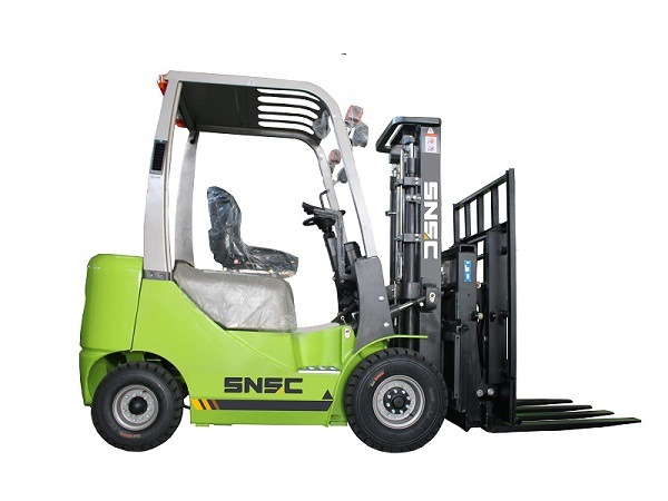 Empilhadeira Diesel 1.5 Ton Forklift with Paper Roll Clamp