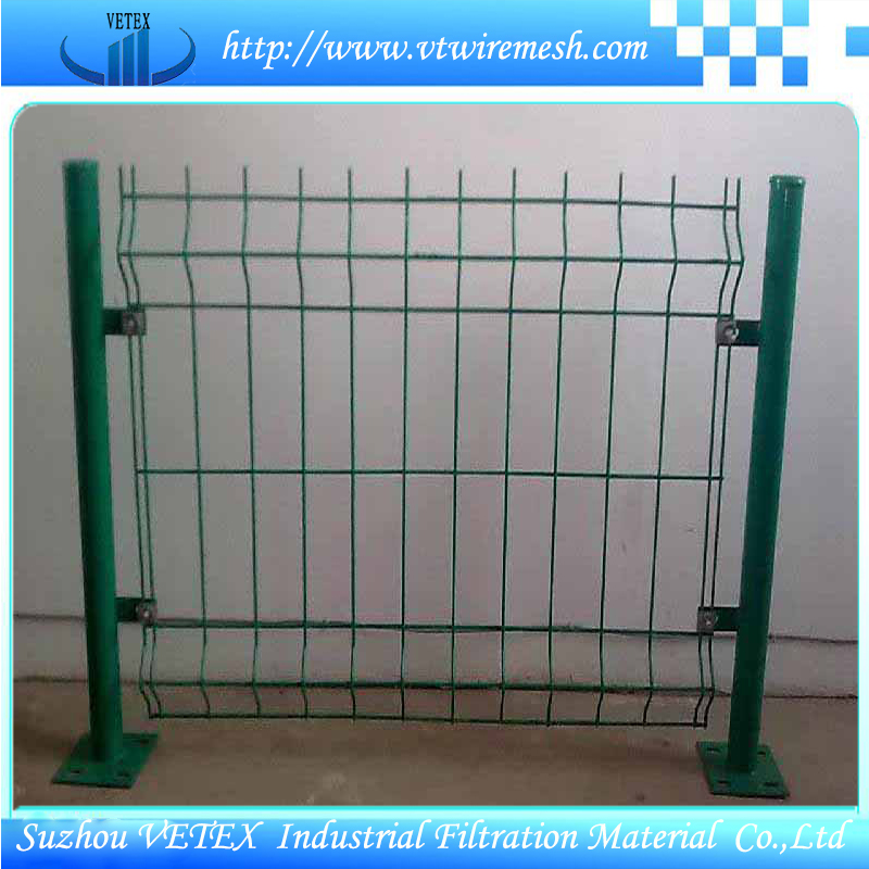Vetex Steel Fence Used in District