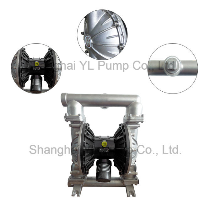 2 Inch Stainless Steel Circle Pneumatic Double Diaphragm Air Pump