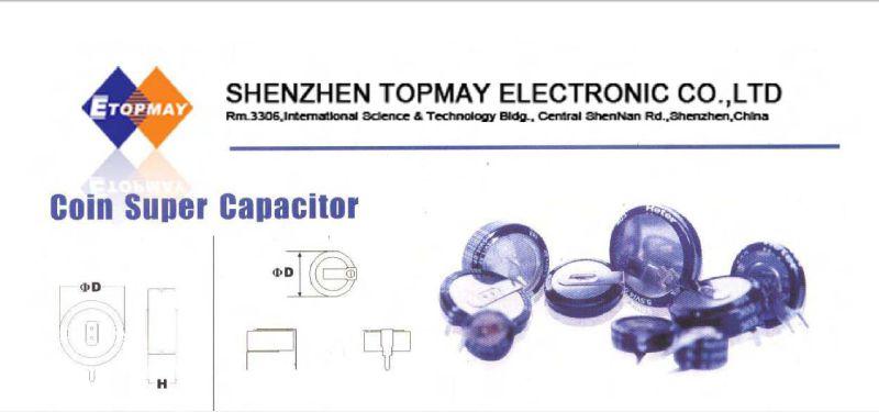 Popular Tmcs02 Coin Super Capacitor-1