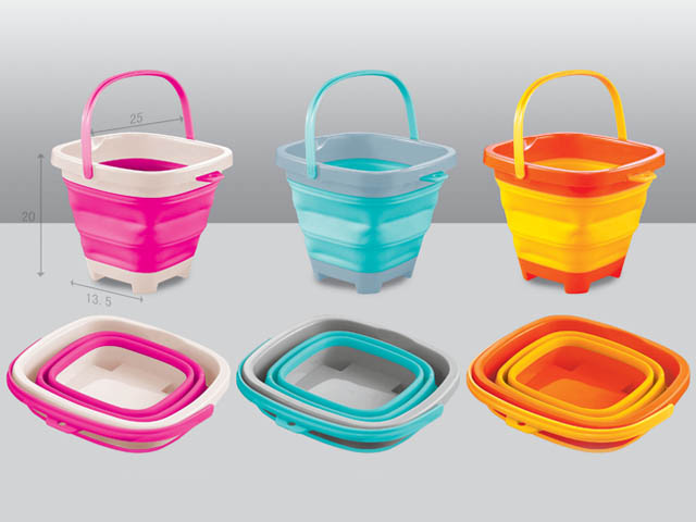 Colourful Bucket of 5L&7L Folding Bucket for Children