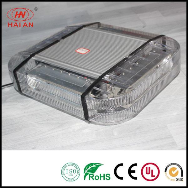 Traffic Signal Lights LED Strobe Amber Emergency Warning Mini Strobe Light Bar Magnetic Base