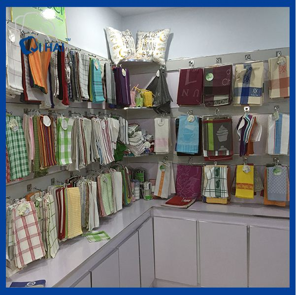 100% Cotton Clean Mop Towel (QHM88901)