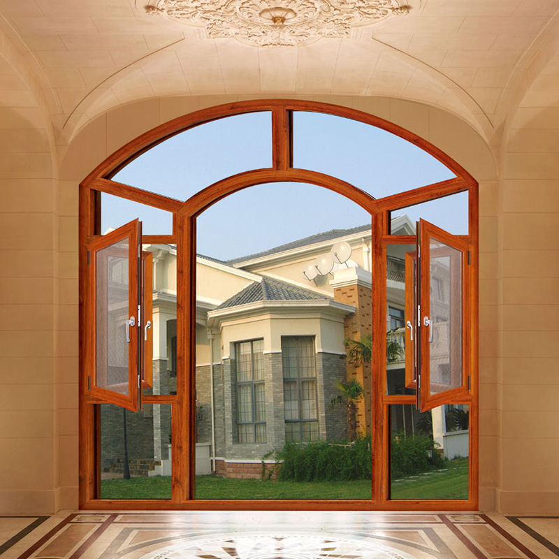 Elegant Hot Sale Designs Aluminium Casement Window (FT-W135)