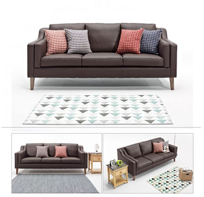 Simple Modern Japanese-Style Casual Living Room Sofa Combination