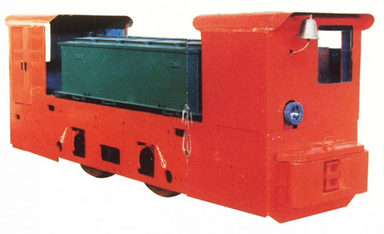 Cay12 Underground Mining Battery Powered Electric Locomotive