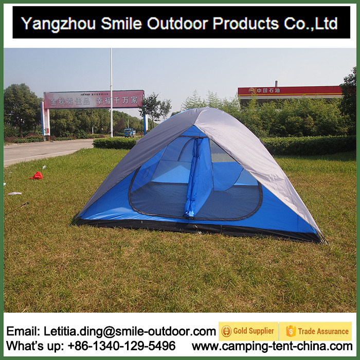 4-6 Person Double Layer Garden Professional Two Story Camping Tent