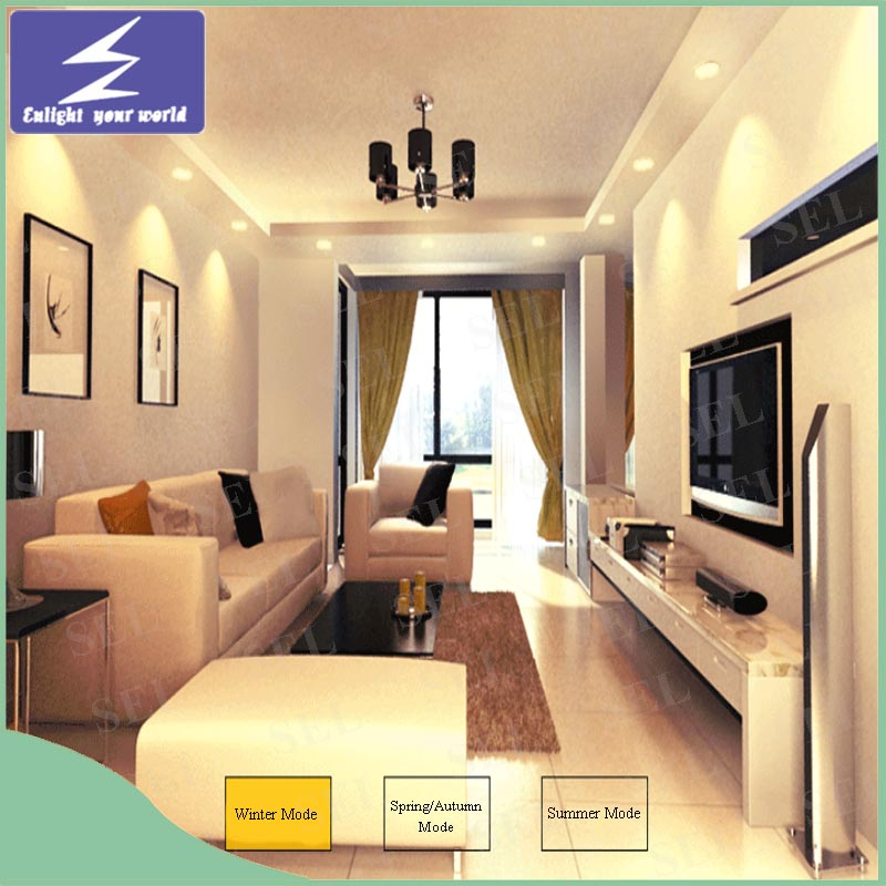 White Aluminum 3W 5W 7W 9W 12W 15W LED Ceiling Downlight
