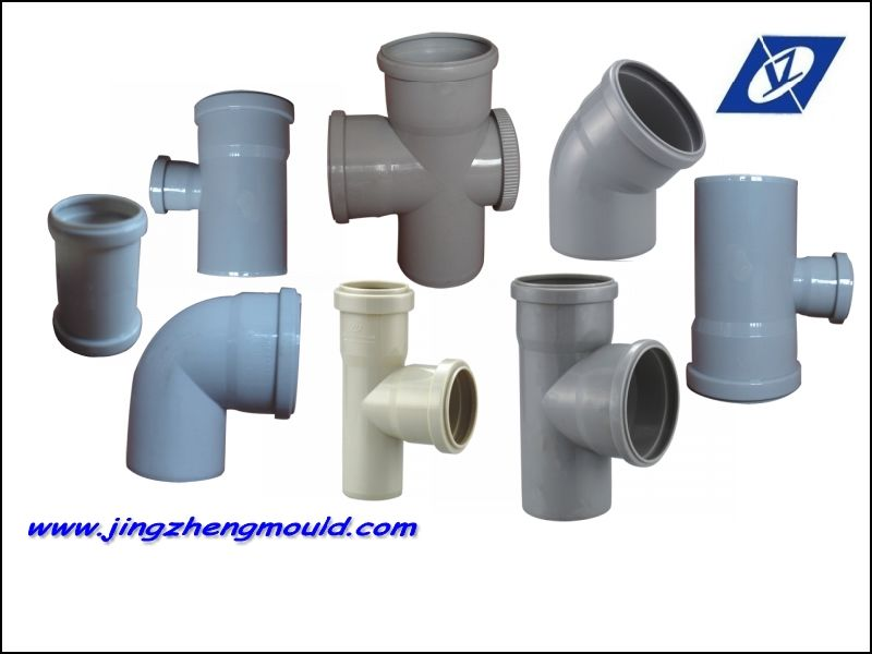 Plastic Fittings Mold for PVC 110mm Pipes