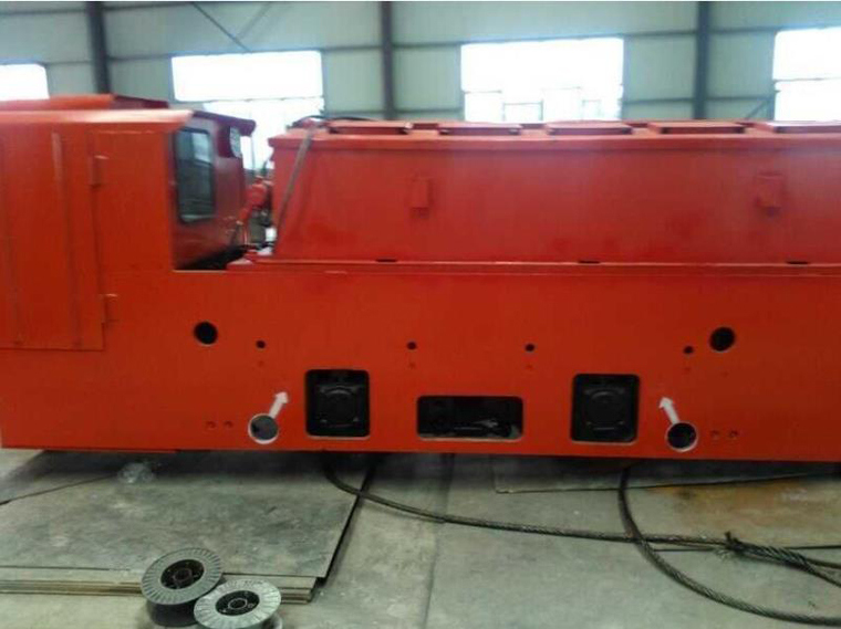 Cay25/9gp 25t Underground Mining Battery Locomotive for Mine