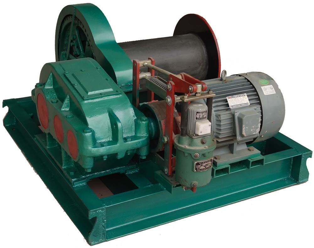 Underground Mining Wire Rope Electric Winch for Pulling and Lifting