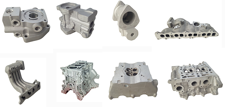 Automobile Parts and Accessories in Aluminum Die Casting