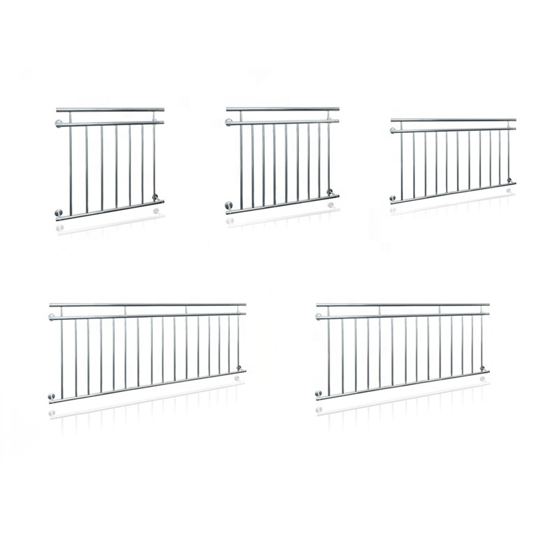 French Stainless Steel Railing Design Balcony Fence
