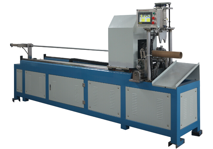 Shaftlesssprial Paper Pipe Cutting Machine