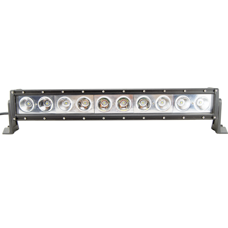 Straight Single Row 100W SUV LED Light Bar Offroad