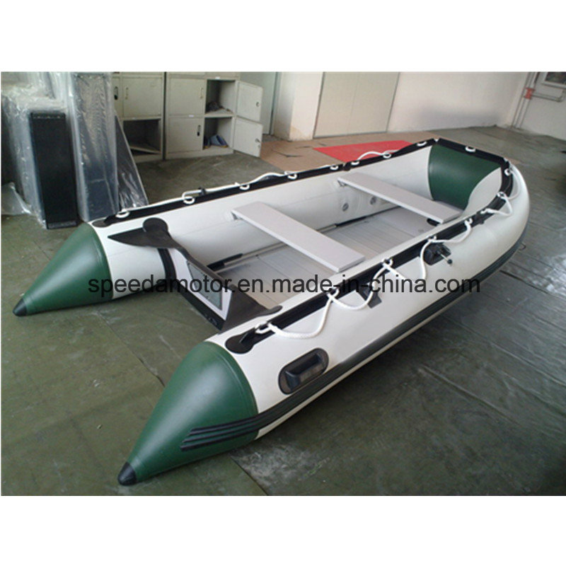 PVC Rubber Inflatable Fishing Boat
