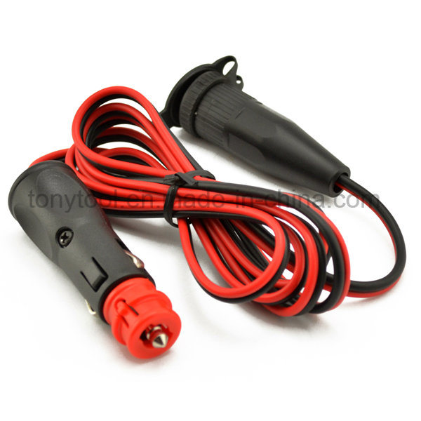 12V Car Cigarette Lighter Socket Extension Cord