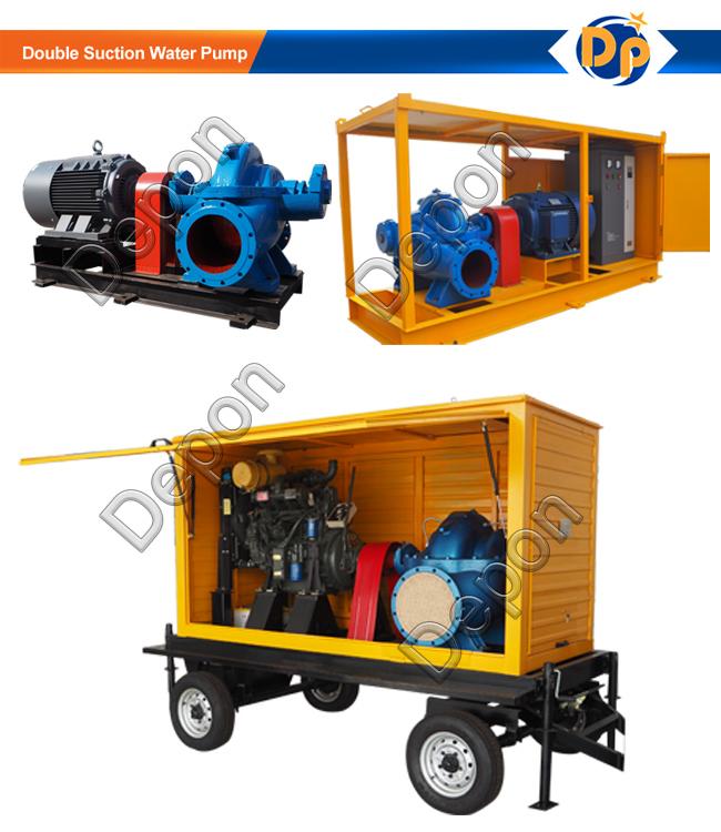 Belt Driven High Flow Centrifugal Water Pump