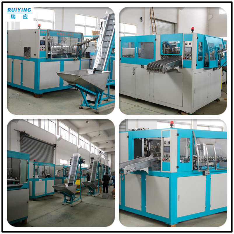 Bottle Making Blow Molding Machine Blowing Moulding Juice Beverage Multilayer 2 Cavity Hand Feeding Injection Jerry Can Toy Tritan PC PP PET China Manufacturer