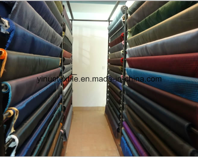 100% Polyester 260t Twill Print Fabric for Men's Suit Lining