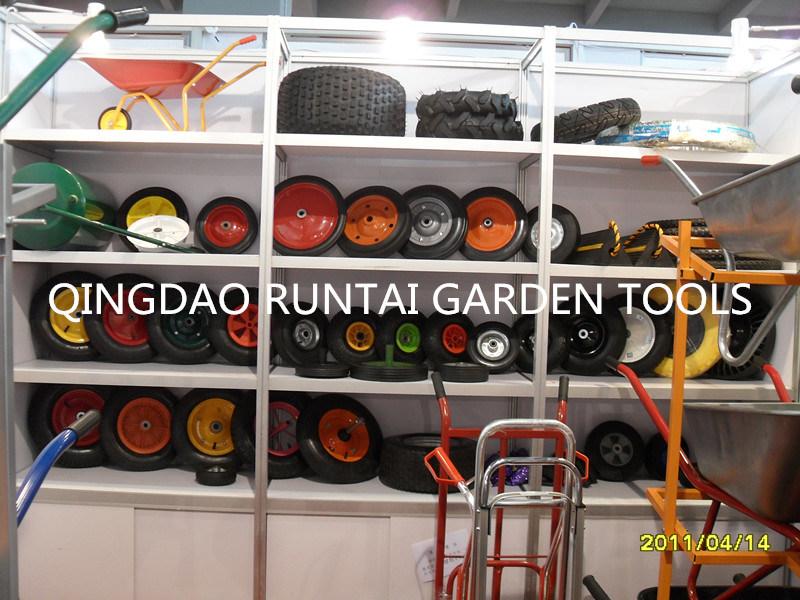 Pr1402 2.80/2.50-4 Hand Pallet Truck Rubber Wheel, Pneumatic Rubber Wheel