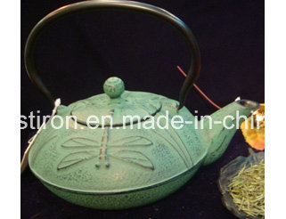 Costomer Design Cast Iron Teapot 0.8L