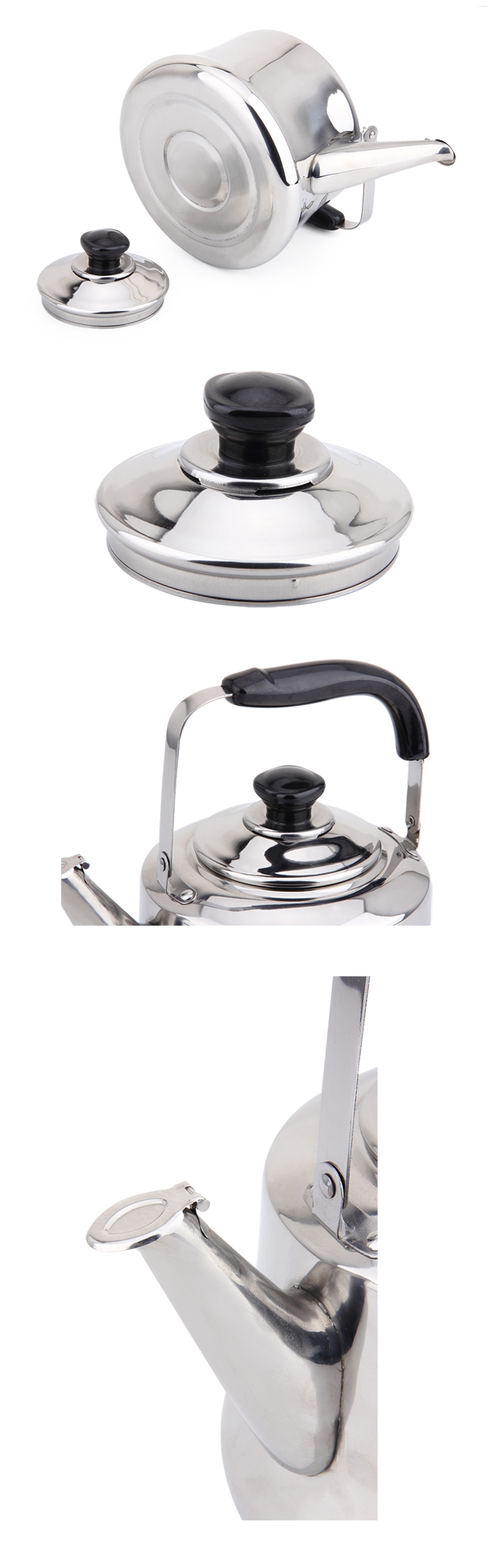 Classical Style Stainless Steel Water Kettle and Tea Kettle