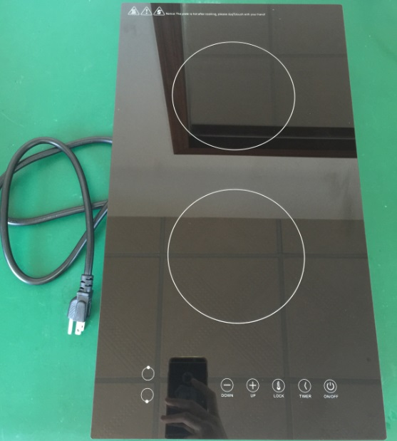 3300W Built-in Double Burners Induction Cooktop Model Sm-Dic30