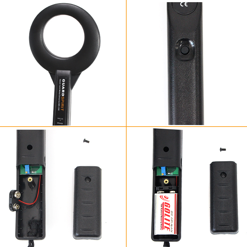 MD-200 Mobile Phone Detector Factory Station Security Inspection Equipment Handheld Metal Detector