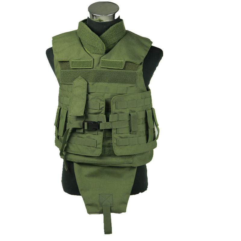 Nij Iiia Bullet-Proof Body Armor Ballistic Vest (HY-BA003)
