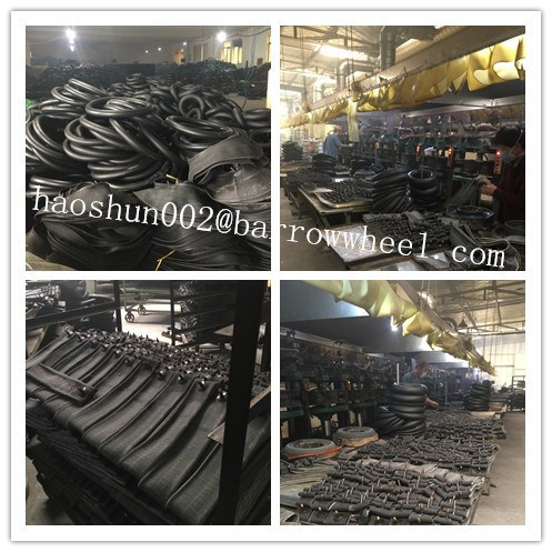 350-8 15% Natural Rubber High Quality Wheelbarrow Inner Tube