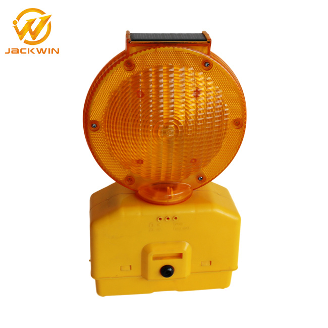 Solar Warning Flashing Traffic Signal Light