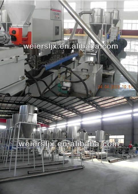 Shj-65 WPC Pelletizing/Granulate Extrusion Machinery