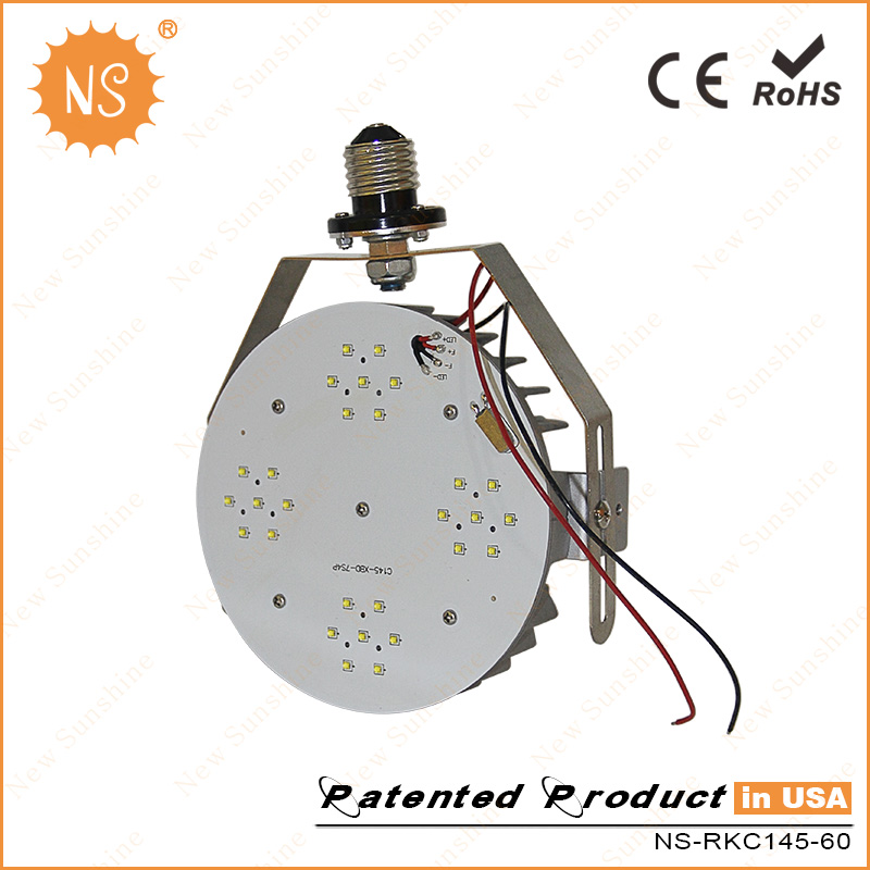 150W Parking Lot Lamp Replacement 60W LED Retrofit Kits