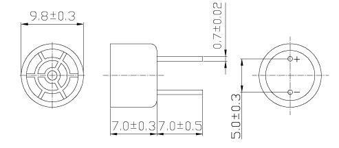 10mm 40kHz Piezo Ultrasonic Transmitter / Receiver Sensor